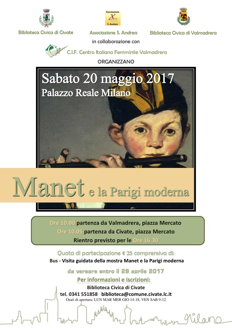 Manet a Milano