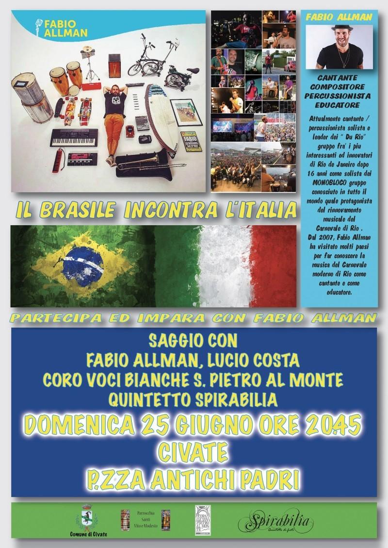 Brasile incontra l'Italia