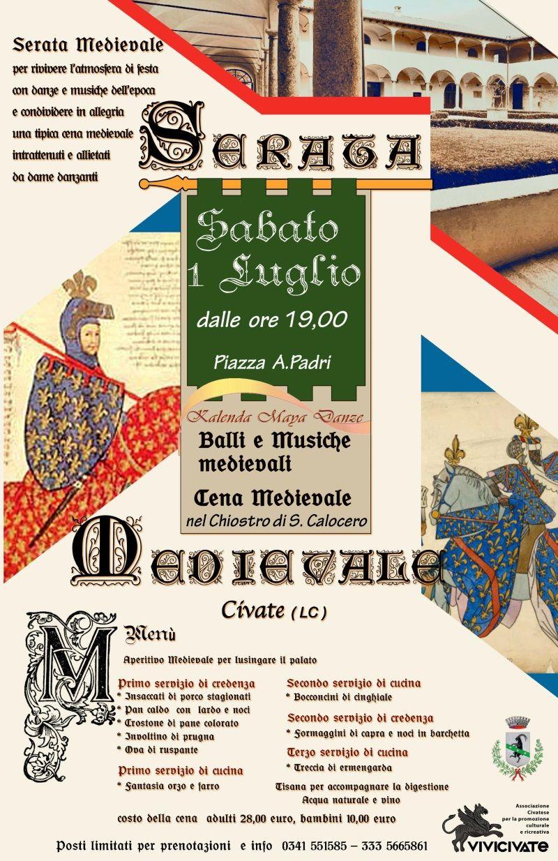 Cena medievale - Civate